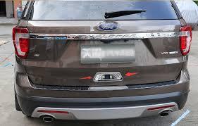 ford explorer trim aliexpress com buy 1 pcs for ford explorer 2016 2017 abs rear