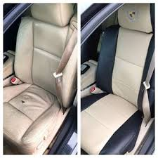 Car Upholstery Installation Coverking Premium Leatherette Custom Fit Seat Covers