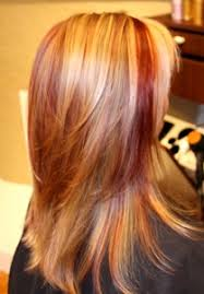 caramel lowlights in blonde hair photos of real hair behind my chair with a brief description of my