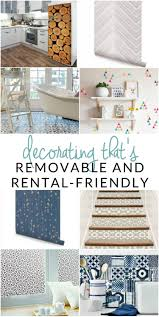 9 removable products for your rental cute apartment decor the