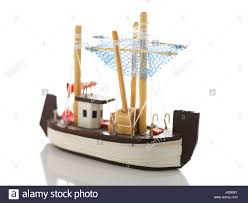 model ship ornament wood handicraft souvenir small