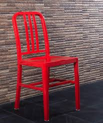 Red Metal Chair How To Paint Metal Real Simple
