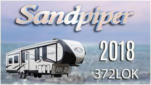 new 2018 forest river sandpiper 372lok 7345