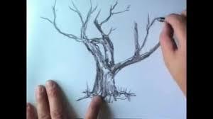 tutorial menggambar orang dengan pensil cara menggambar pohon dengan pensil vidio com