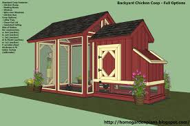 chicken house construction plans with simple chicken coop and run