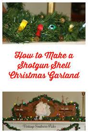 shotgun shell christmas lights how to make a shotgun shell christmas garland vintagesouthernpicks com