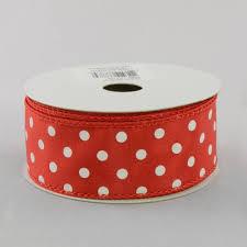 and white polka dot ribbon 1 5 white polka dot ribbon 10 yards rg100124