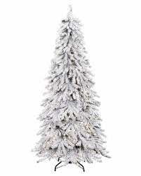christmas snowy spruce flocked artificial christmas tree