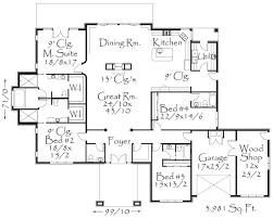 floor plans craftsman extreme3981 house plan contemporary house plans craftsman