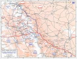 Metz France Map by Maps Of The Great War