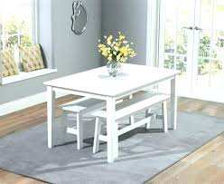 white table with bench dining table with benches white dining table with bench white dining
