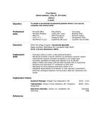 administrative assistant resume skills list resume template great