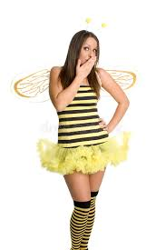 Bee Halloween Costume Bee Halloween Costume Stock Photography Image 2943332