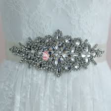 satin sash belt luxury and rhinestones bridal sash satin belt lunss