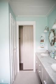 Bathroom Door Designs How To Add A Lock To Your Barn Door The Handmade Home