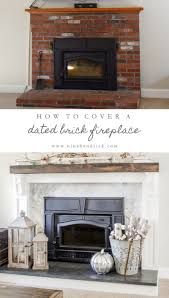fireplace cover up brick fireplace cover up olympico