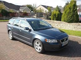 volvo v50 2 4 d5 se geartronic 5 dr in falkirk gumtree