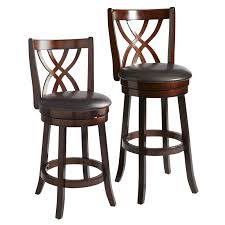 holbrook brown swivel counter u0026 bar stool pier 1 imports