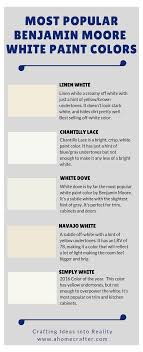 what is the most popular white for trim most popular benjamin white paint colors linen white