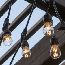 outdoor string light chandelier 48ft outdoor string lights best choice products