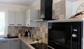 cuisine avec carreaux de ciment crdence en carreaux de ciment beautiful cuisine avec carreaux de