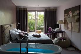 chambre salle de bain ouverte inspiration les salles de bains d hôtel inspiration bain