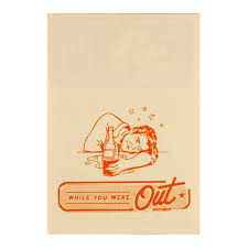 the red while you were out memo pad