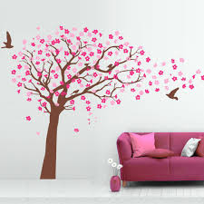 tree wall decal for interior decoration wedgelog design image of vinyl wall decal tree