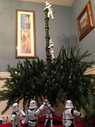 What Trees Are Christmas Trees - star wars stormtroopers put up christmas tree for darth vader in
