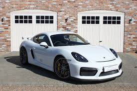 porsche cayman white used porsche cayman gt4 ceramic brakes 20 inch alloys carrera