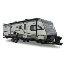 the best travel trailers for a family of four water sky land