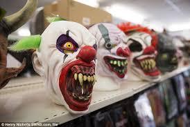 killer clown mask target stops selling killer clown masks before