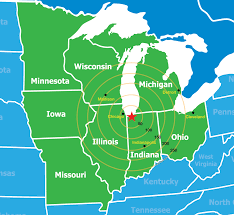 Map Of Indiana And Illinois by Indiana Dunes Country Interactive Travel Map Indiana Dunes