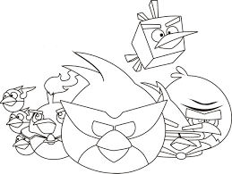 angry birds printable coloring pages free printable angry bird