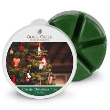 classic christmas tree goose creek scented wax melts