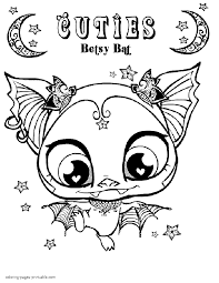 my little pet shop coloring pages great printable my littlest pet