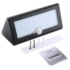 Security Light Solar Powered - popular led solar powered motion sensor light wireless waterproof