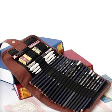 makeup artist supplies artists pencil 24 holes roll brush pen pouch for artist