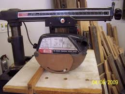 Craftsman Radial Arm Saw Table Craftsman Radial Arm Saw 113 23111 Woodworking Talk