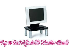 adjustable monitor stand for desk adjustable monitor stands adjustable dual monitor stand for desk