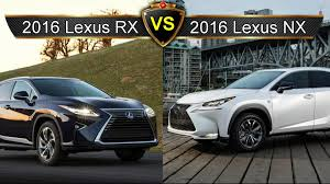lexus gx vs acura rdx 2016 lexus rx vs lexus nx by the numbers sibling rivalry