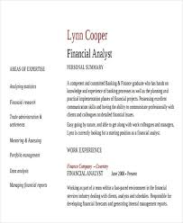 financial planning and analysis resume examples financial analyst resume financial advisor resume example a