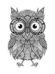 halloween coloring pages for adults printables hey everyone check out this awesome intricate owl for some