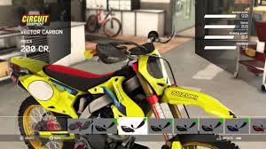 custom motocross bikes mxgp 2 all bike upgrades youtube