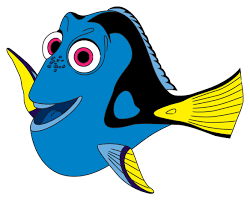 how to draw dory from finding nemo via www wikihow com kids