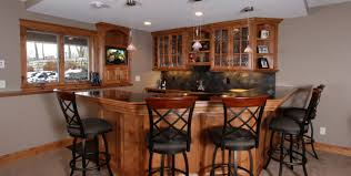 Glass Door Bar Cabinet Bar Howard Miller Black Console Wine And Bar Cabinet With