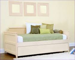 bedroom upholstered daybed with pop up trundle sofa trundle bed
