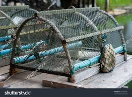 crab trap soft shell crab farm stock photo 151629452 shutterstock