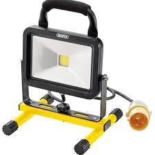 110v led work light draper 66044 cob led work l 20w 1300 lumens 110v northern tools