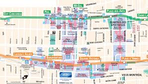 Mall Of America Store Map by Montreal Underground City Map Go Montreal Tourism Guide